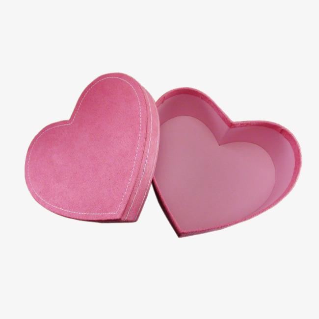 粉色心形礼物盒素材png素材-90设计