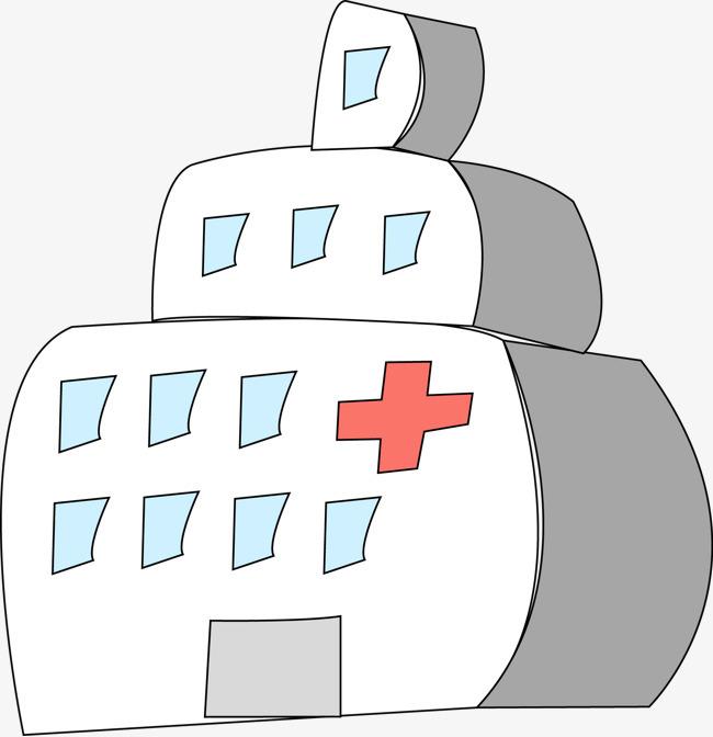 卡通手绘医疗医院