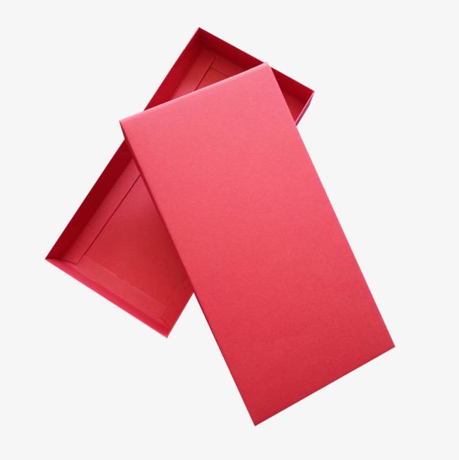 长方形红色喜庆盒子