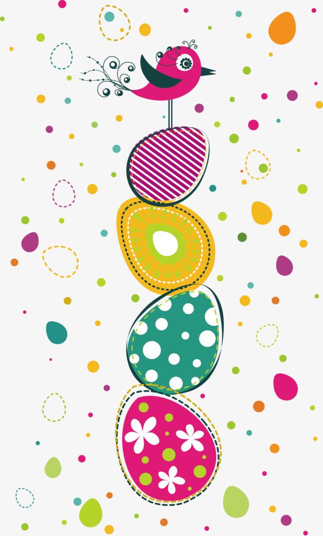 卡通手绘彩色彩蛋素材图片免费下载 高清psd 千库网 图片编号1172871
