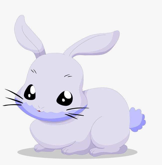 矢量可爱小兔子素材