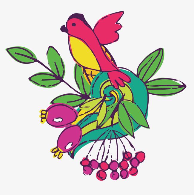 图片 > 【png】 彩色的植物动物  分类:手绘动漫 类目:其他 格式:png图片