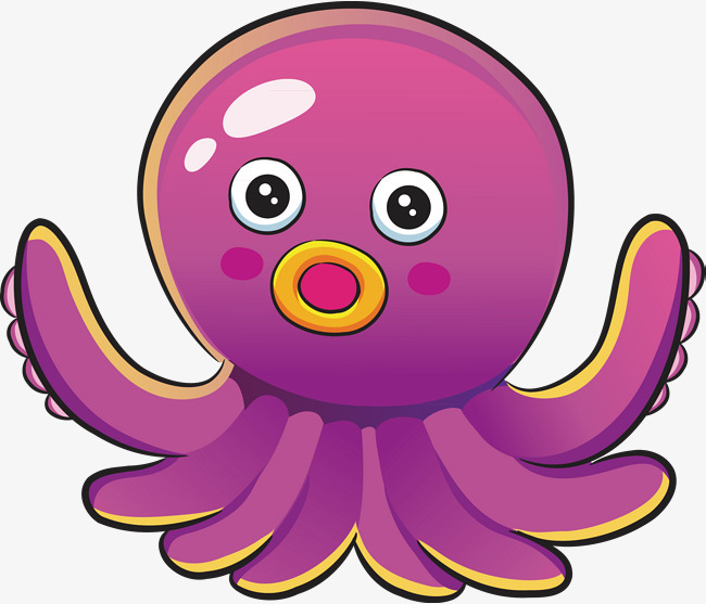 章鱼设计手绘