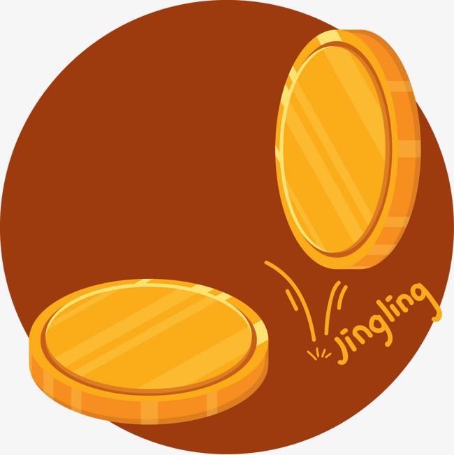 精美手绘金币