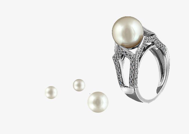 本次珍珠戒指作品为设计师创作,格式为png,编号为 18038161,大小0.