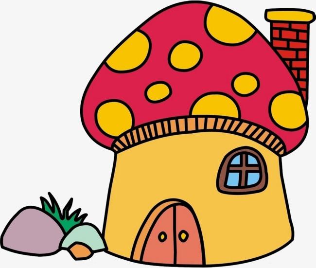图片 蘑菇卡通 > 【png】 蘑菇房子  分类:手绘动漫 类目:其他 格式