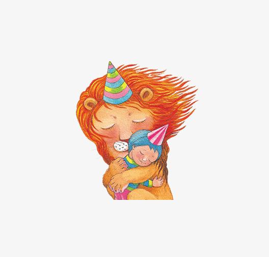 几米漫画手绘狮子