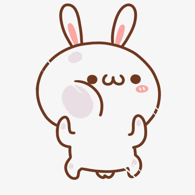 可爱卡通小兔图片