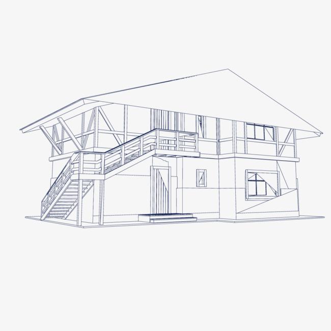 工程图 简笔画 平面图 手绘 线稿 650_651