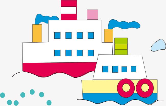 小制作船的图字