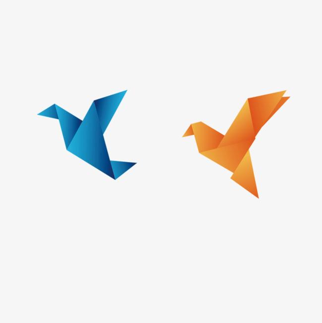 本次手绘千纸鹤作品为设计师梦想起飞创作,格式为png,编号为 18052301
