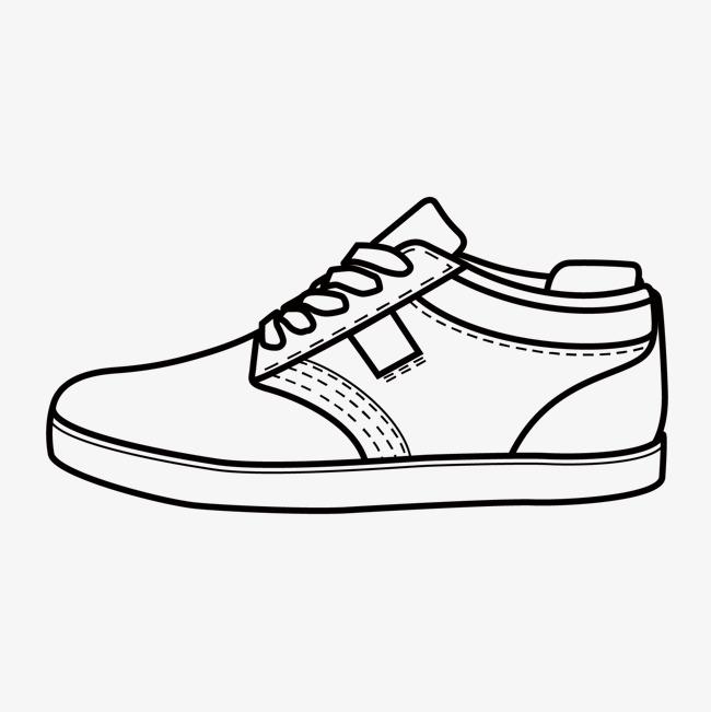 手绘鞋子图片展示