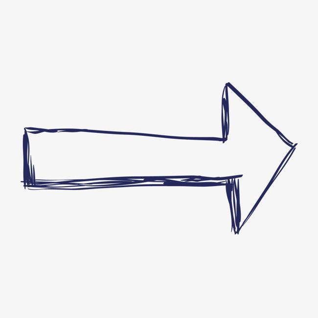 手绘旋转箭头图标