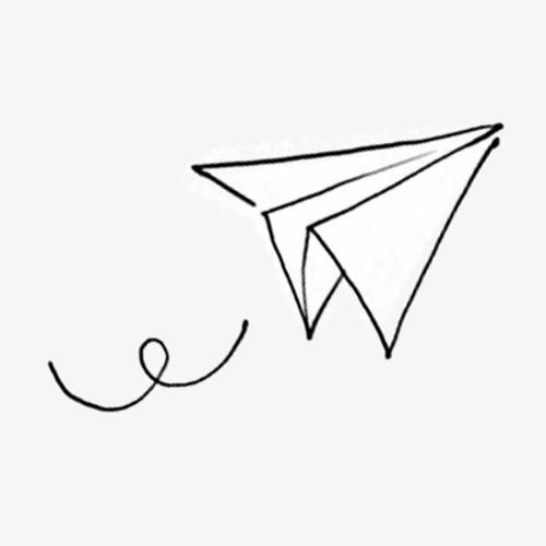 卡通手绘纸飞机素材图片免费下载 高清卡通手绘png 千库网 图片编号7325489