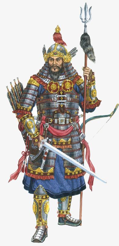 古代将军图片手绘_手绘古风将军