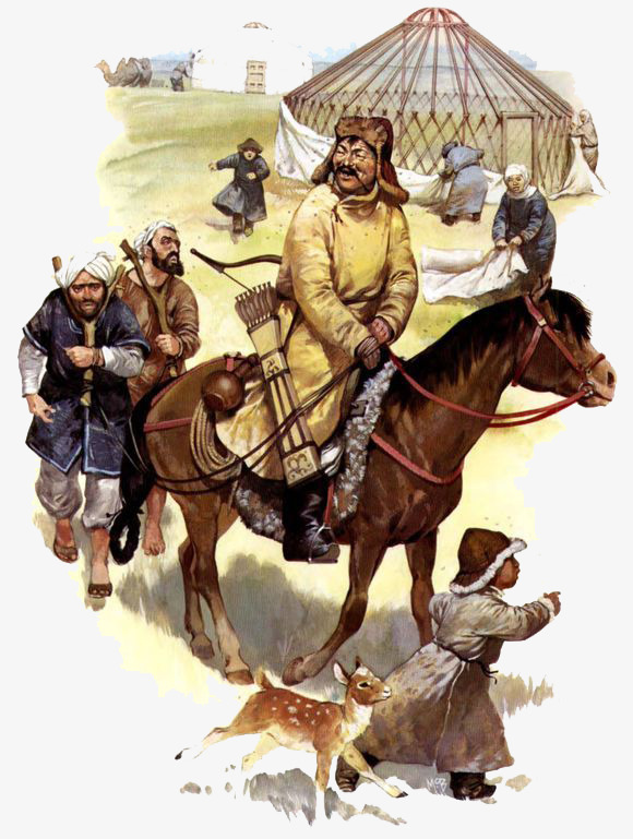 蒙古古代游牧士兵