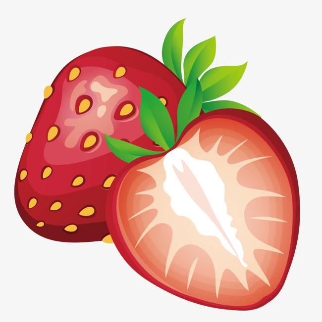 矢量 水果 草莓 手绘             此素材是90设计网官方设计出品,均