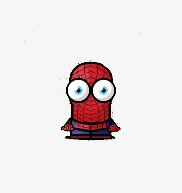卡通q版蜘蛛侠