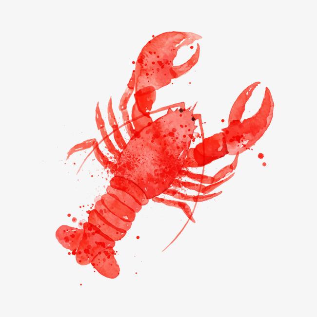 龙虾剪纸步骤图解法