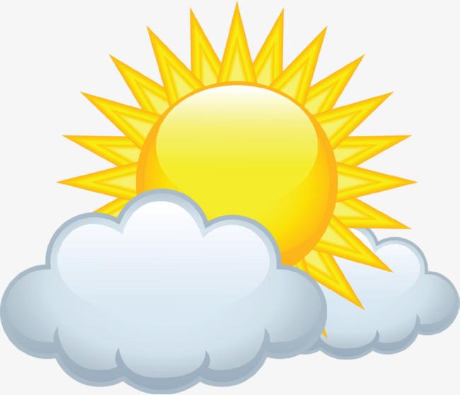 太阳彩虹图标素材免抠图
