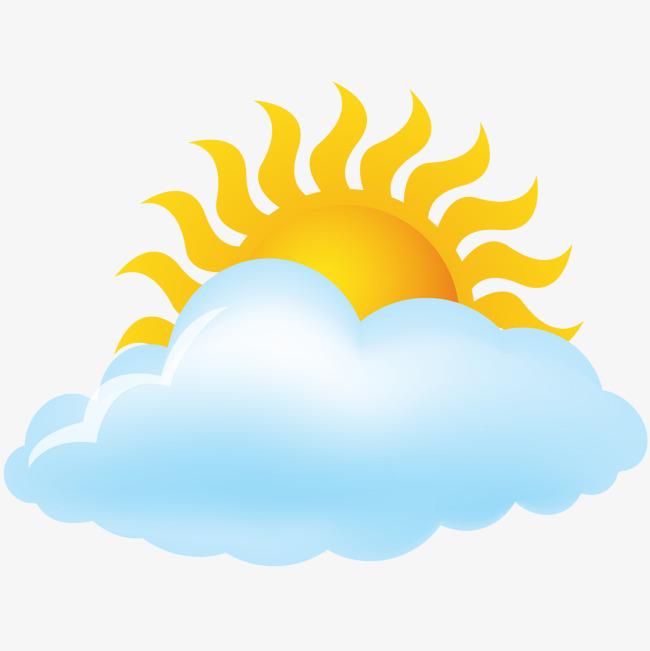 Line Drawing Sunny Day : 矢量多云天气预报图标素材图片免费下载 高清装饰图案psd 千库网 图片编号