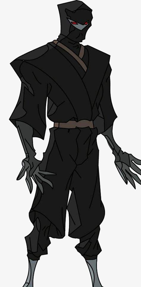 黑衣人动漫手绘