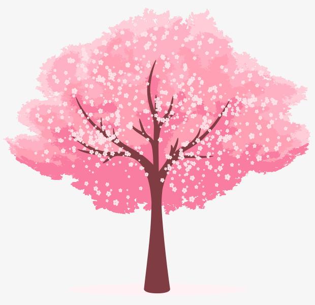 图片 > 【png】 卡通手绘樱花树  分类:手绘动漫 类目:其他 格式:png