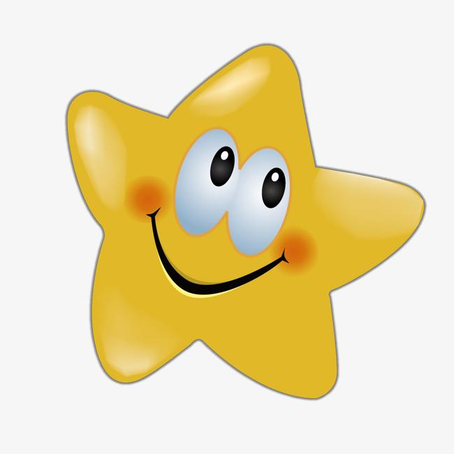 黄色五角星笑脸矢量图标素材图片免费下载 高清装饰图案psd 千库网 图片编号7396434