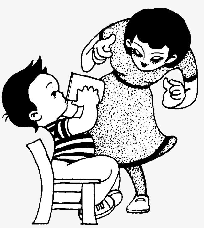 妈妈看宝宝喝水图片