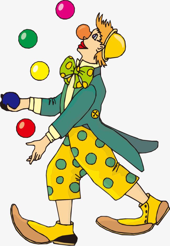小丑扔球步骤图