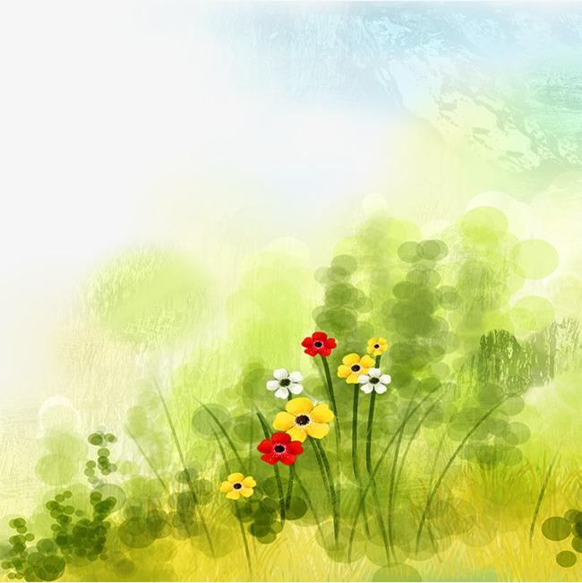 春天绿色景象