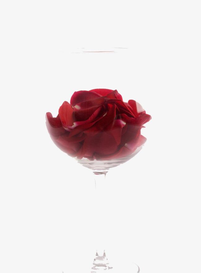 酒杯玫瑰花