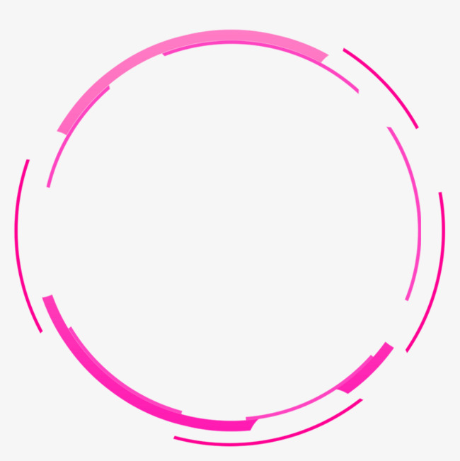 紫色简约圆圈边框纹理