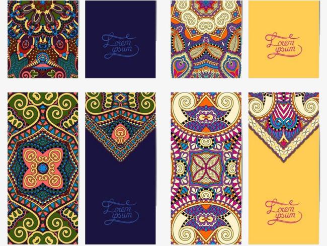 案装饰蜡染蜡染苗族装饰免抠素材免费下载民族风花纹纹理传统花纹