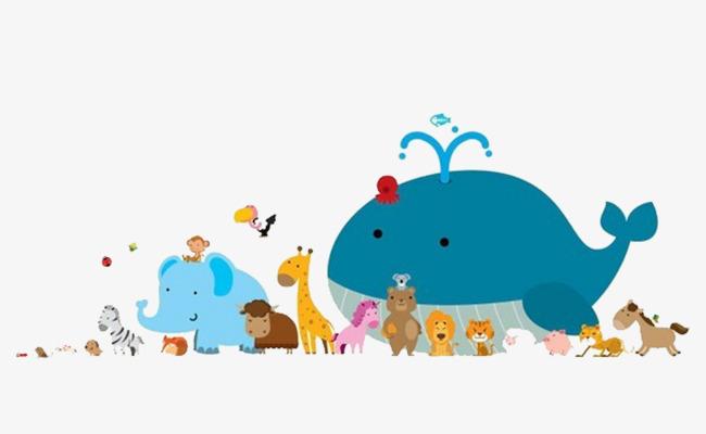 图片 卡通背景 > 【png】 卡通动物园  分类:手绘动漫 类目:其他 格式