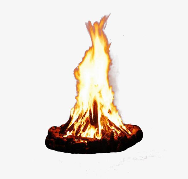 火堆简笔画 步骤 画法