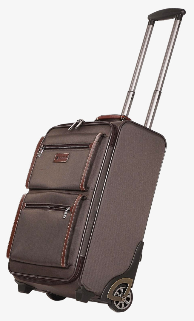 一个行李箱