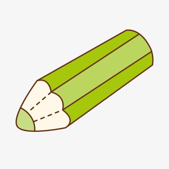 绿色的铅笔
