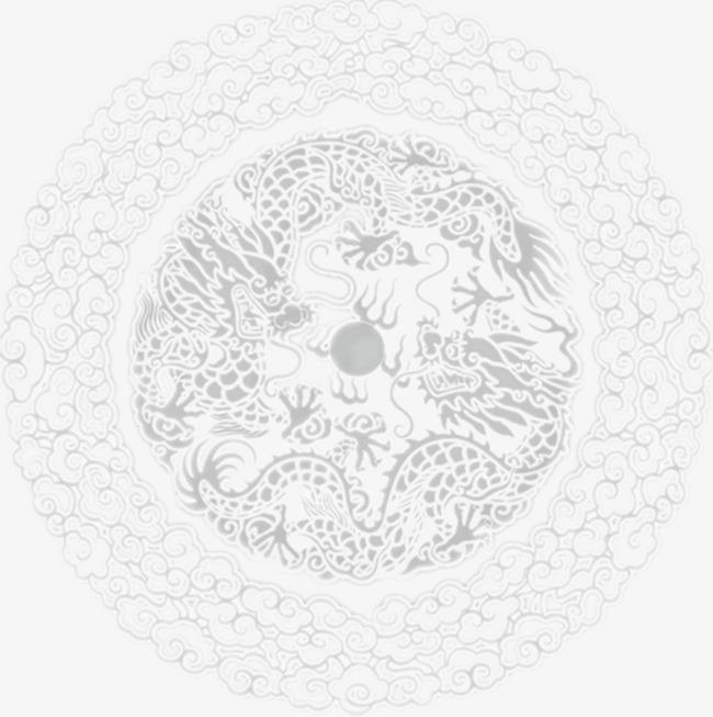 手绘简单花纹素材