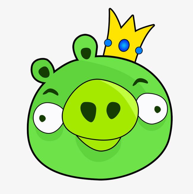 绿色小猪头
