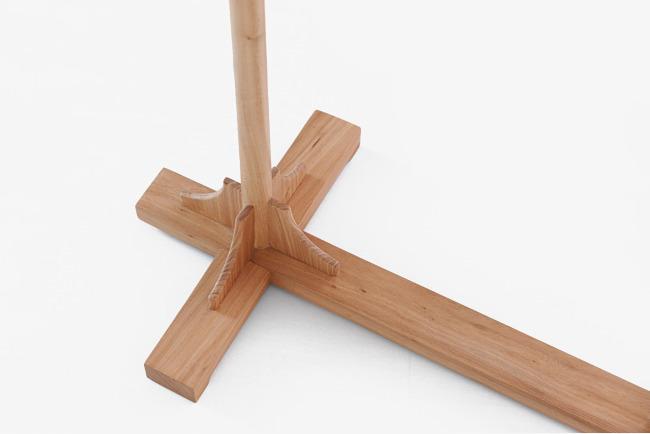 木质衣架榫卯结构图