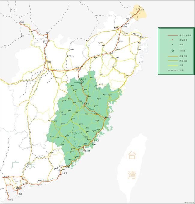 福建地图素材图片免费下载 高清图片png 千库网 图片编号7490431