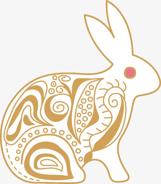 手绘小兔子