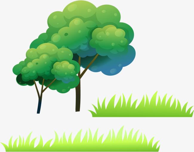 矢量卡通树