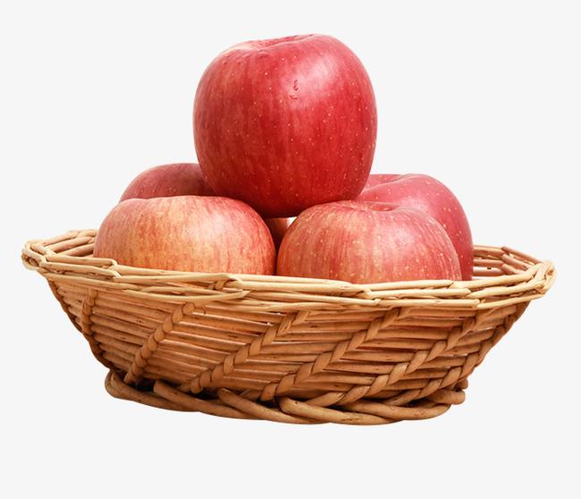 清新生鲜水果烟台红富士苹果