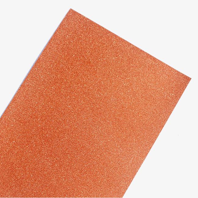 橙色金粉纸