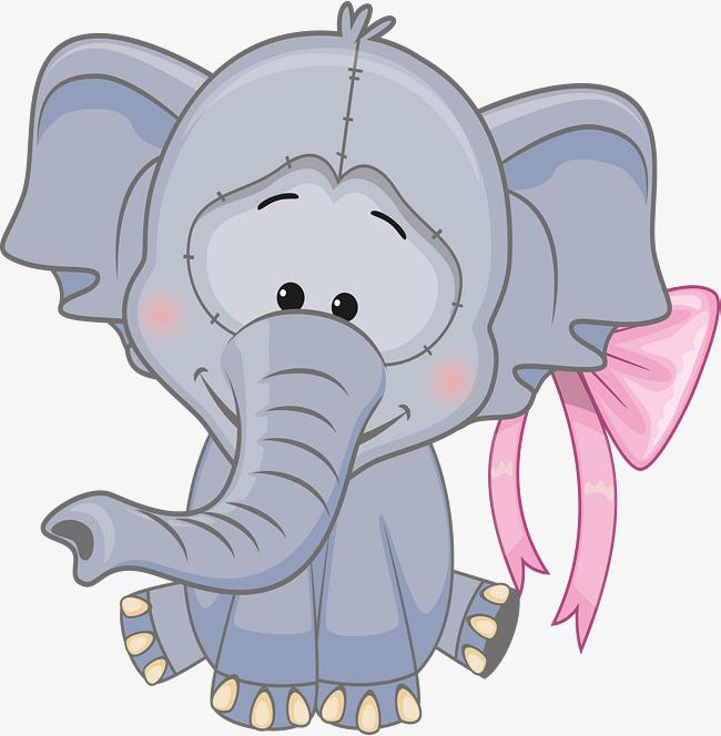 卡通小象设计