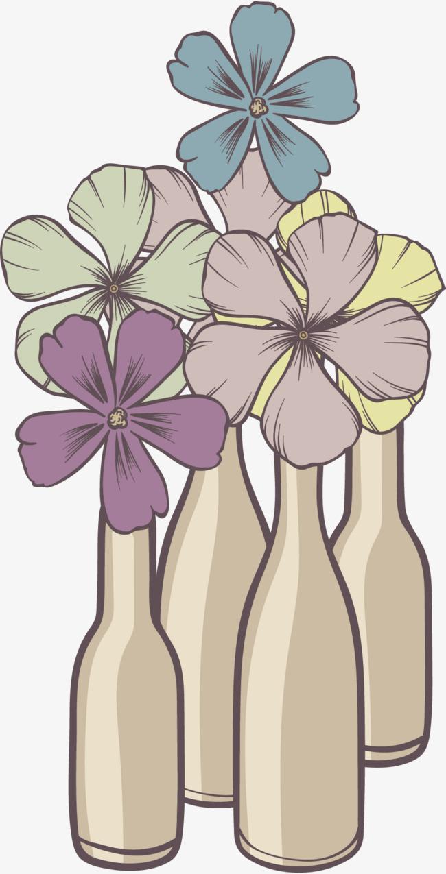 小雏菊装饰花瓶