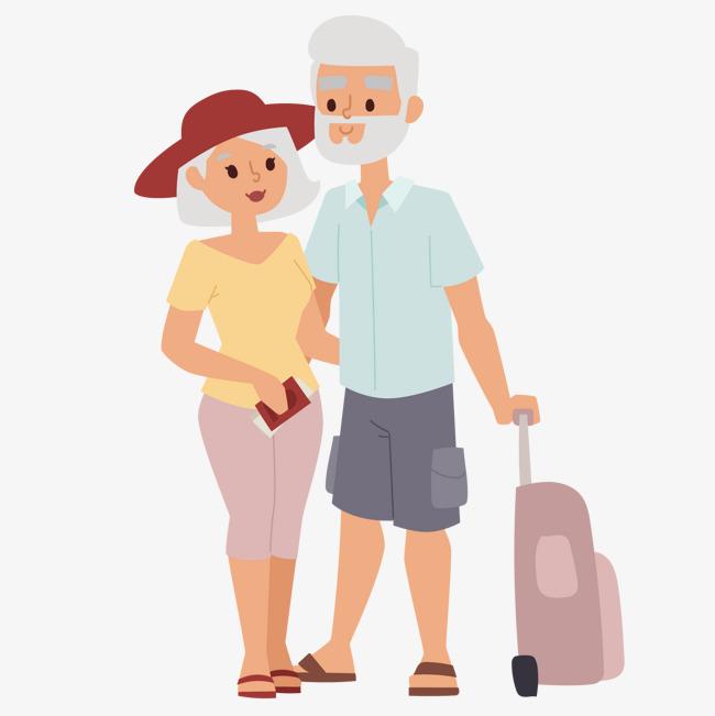 老爷爷与老奶奶