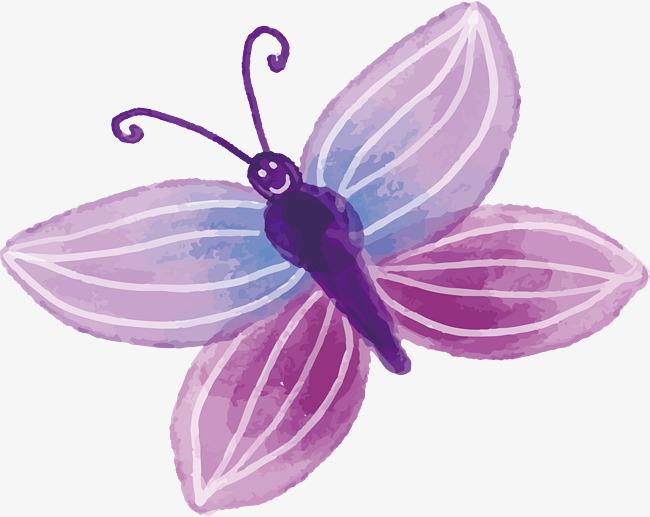 水彩蝴蝶设计